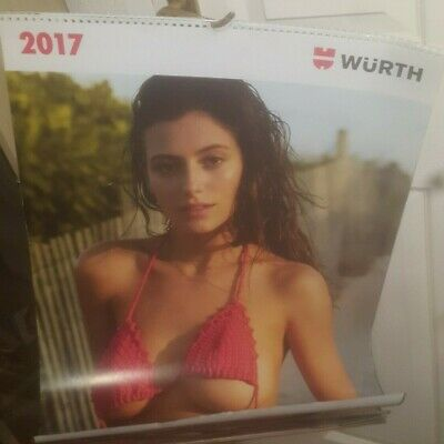 $ CDN63.05 • Buy WURTH Official Calendar 2017 - BACK ISSUE - Glamour Model Models - LARGE SIZE