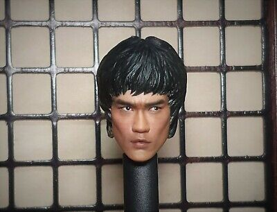 $59.90 • Buy Custom 1/6 Bruce Lee Head Sculpt Game Of Death Muscle Body Enterbay Suit