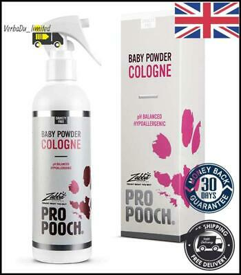 £13.98 • Buy Pro Pooch Dog Perfume - Cologne Spray For Dogs W/Baby Powder Scent 250ml