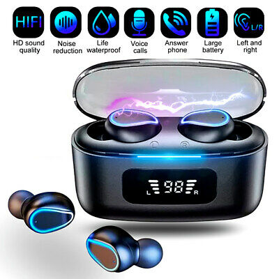 $ CDN12.20 • Buy Bluetooth Earbuds Wireless Earphone IPX7 WaterProof For Samsung Android  IPhone