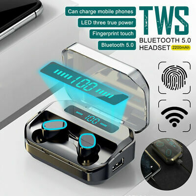 $ CDN12.71 • Buy Wireless Bluetooth Earbuds For Iphone Samsung Android IPX7 WaterProof Earphone