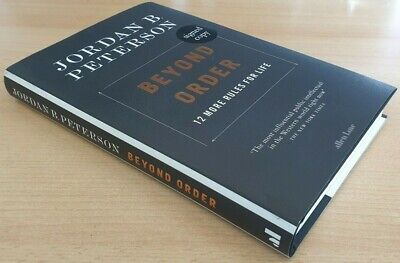 AU36.27 • Buy Beyond Order 12 More Rules For Life By Jordan B Peterson Signed First Edition HB