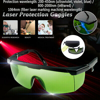 LED Grow Light Glasses Indoor Hydroponic Room Plant Visual Eye Protection UV BE • 10.16£