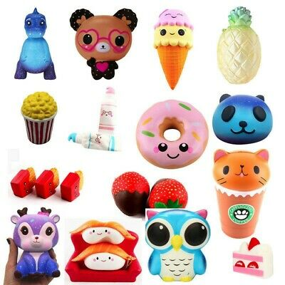 AU7.01 • Buy Jumbo Slow Rising Compress Toy Scented Cute Mini Soft Charm Toys Present Toy