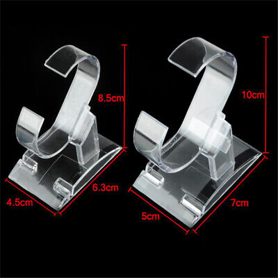 £5.99 • Buy 5/10Pcs Clear Acrylic Watch Display Stand For Retail Display & Jewelry Organizer