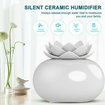AU19.95 • Buy 200ml Ultrasonic Aroma Diffuser Lotus Aromatherapy Oil Air Purifier Humidifier