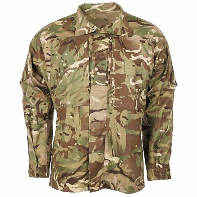 £10.99 • Buy British Army Issue Shirt Temperate MTP Camo Camouflage Lightweight Jacket