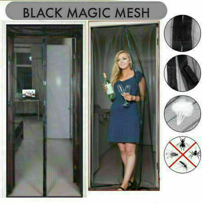 £6.39 • Buy MAGIC Magnetic Curtain Door Net Screen Insect Bug Mosquito Fly Insect Mesh Guard