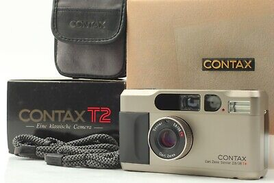 $ CDN1516.43 • Buy [MINT++ In Box] Contax T2 35mm Point & Shoot Film Camera From JAPAN