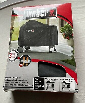 $ CDN72.54 • Buy Weber 7152 Grill Cover For Performer Premium And Deluxe 22  Charcoal Grills NEW