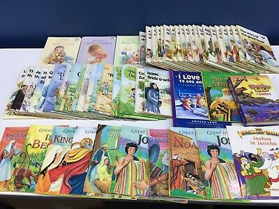 £141.93 • Buy Used Christian 55 Childrens Bible Stories Books Alice In Bibleland Guideposts
