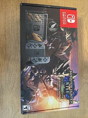 $ CDN513.90 • Buy NEW Nintendo Switch MONSTER HUNTER RISE Deluxe Edition System - Game Included