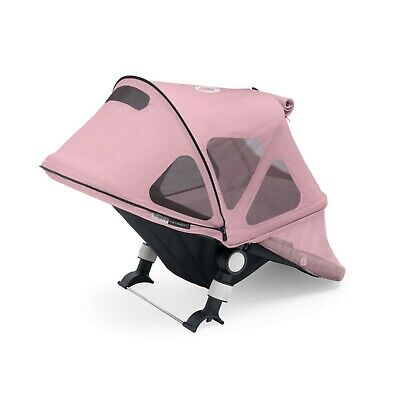 £45 • Buy Bugaboo Fox / Cameleon Breezy Hood Canopy Soft Pink With Free Matching Parasol