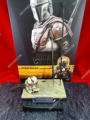 $ CDN218.61 • Buy Hot Toys TMS007 Star Wars Mandalorian 1/6 Action Figure's Base Stand Diorama