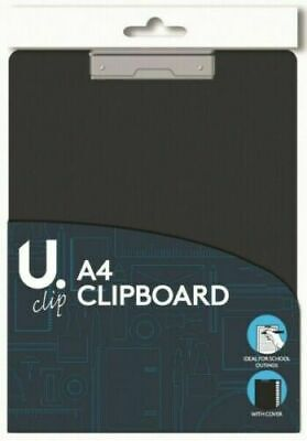 A4 Clipboard Board Clip Fold Writing Holder Office Document Pad Hard Filing Hand • 2.59£