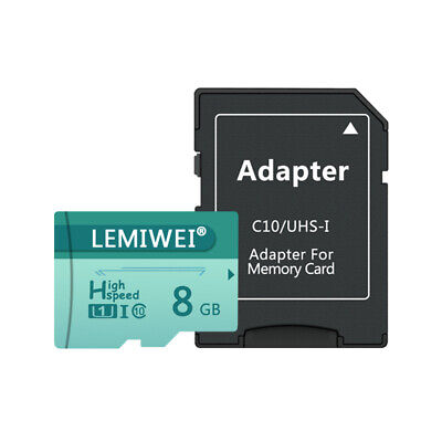 AU0.01 • Buy 8 GB Class 10 Micro SD TF Memory Cards Flash High Quality For Smartphone Laptop