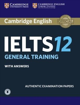 £39.21 • Buy Cambridge Ielts 12 General Training Stud