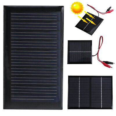 AU6.25 • Buy Portable Mini Solar Panel Cell Module System Battery Charge With Welding Wire