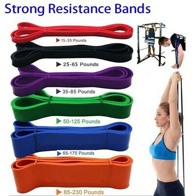 AU17 • Buy GANA Resistance Physical Therapy Workout Loop Band - Set Of 5