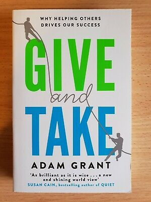 AU19.75 • Buy Give And Take: Why Helping Others Drives Our Success By Adam Grant Paperback NEW