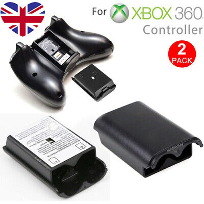£2.47 • Buy 2x Back Battery Holder Pack Shell Cover For Wireless Controller Xbox 360