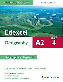 £2.59 • Buy Edexcel A2 Geography Student Unit Guide: Contemp...   Book   Condition Very Good
