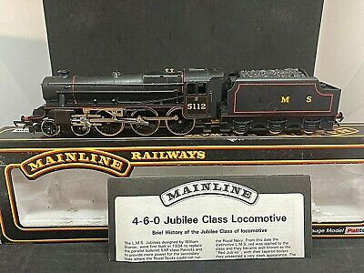£34.32 • Buy Mainline Oo 37-074 Jubilee Class 5xp Lms Black 5112 - Boxed With Insert