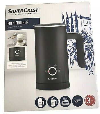 £31.89 • Buy Silvercrest Electric Milk Frother Hot Cold Froth Milk Warmer Steamer Milk Whisk