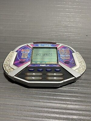 £7.28 • Buy Who Wants To Be A Millionaire Handheld Electronic Game Tiger 2000 Regis Philbin