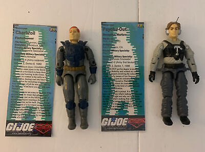 $ CDN41.67 • Buy Lot Of 2 Gi Joe Night Force Figures PSYCHE-OUT And CHARBROIL 1989