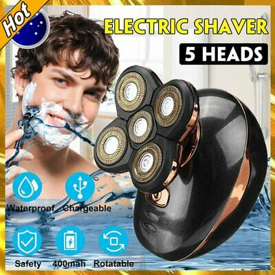 AU29.89 • Buy 5in1 4D Electric Razor Shaver Waterproof Cordless Trimmer Bald Head Rechargeable