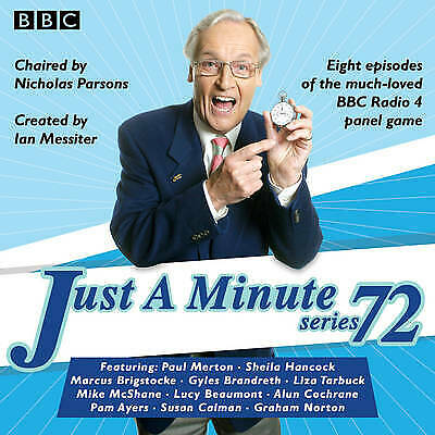 £12.99 • Buy Just A Minute : Series 72 : All 8 Episodes - 4 CD Audio Book BBC Comedy - NEW