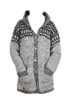 Pachamama Womens Hand Knitted Soft Mohair Wool Cardigan Sweater - Spring, Cardi • 59.95£
