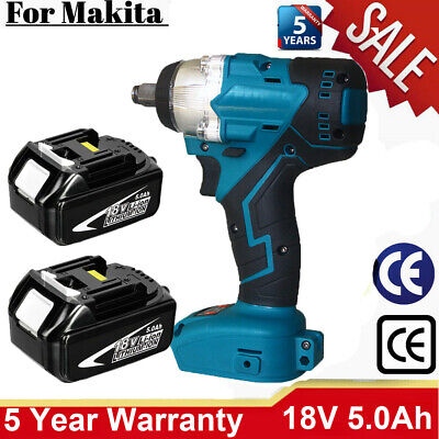 £48.10 • Buy Replace For MAKITA DTW285Z 18V Cordless Brushless Impact Wrench 1/2  Driver UK