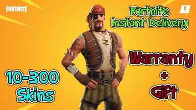 $ CDN11.89 • Buy Account Instant Delivery With Random Skins 🔰 10-300 Skins 🔰 Can Get Renegade