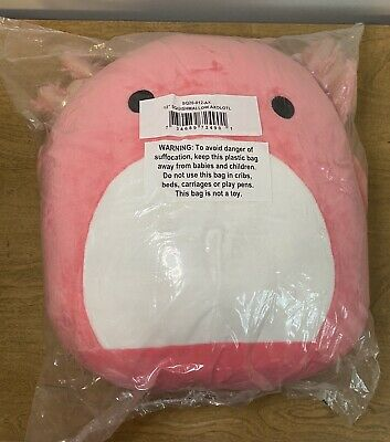 """$ CDN47.36 • Buy Squishmallow 12"""" ARCHIE The Pink AXOLOTL Ultra Soft Plush KellyToy NEW Authentic"""