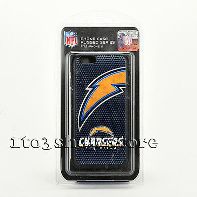 AU9 • Buy IPhone 6 IPhone 6s NFL San Diego Chargers Shockproof Hard Shell Case Snap Cover