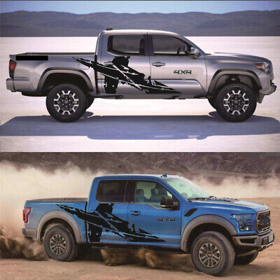 AU54.89 • Buy 2x Car Body Decoration Stickers Decals Accessories For Pickup Ford 4x4 Off Road