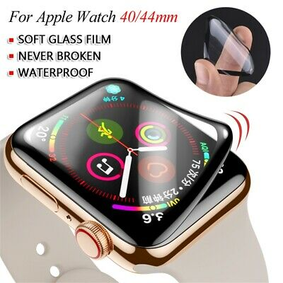 $ CDN2.83 • Buy Film Full Coverage Soft Glass Screen Protector For Apple Watch Series 6 5 4 SE