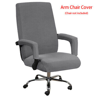 AU18.32 • Buy Removable Office Chair Cover Anti Slip With Armrest Sleeve High Stretch Washable