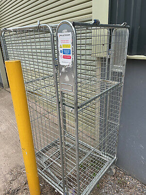£25 • Buy Full Security Roll Cage - 4 Sides Plus Lid And Shelf