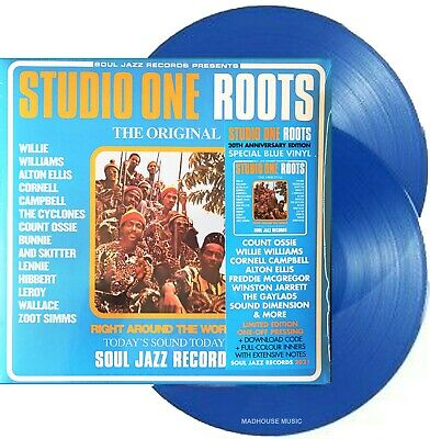 £29.99 • Buy VARIOUS LP X 2 Studio One Roots Double BLUE VINYL 20th Anniversary Edition SEALE