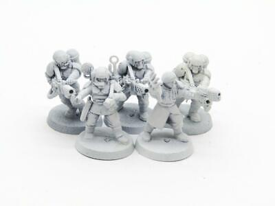£2.20 • Buy (8700) Cadian Command Squad Imperial Guard Astra Militarum 40k 30k Warhammer