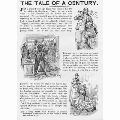 £12.95 • Buy PEARS SOAP Tale Of A Century Victorian Advertisement 1893