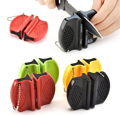 £0.01 • Buy New Camping Equipment Pocket Portable Knife Sharpener Tool For Outdoor Kitchen