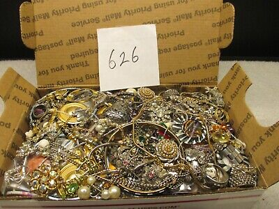 $ CDN42.45 • Buy Large Vintage To Now Estate Find Jewelry Lot,  JUNK DRAWER  Unsearched Untested
