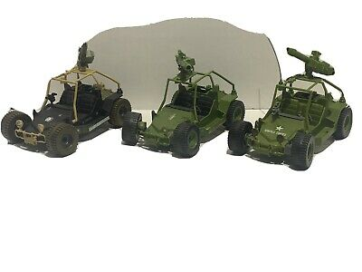 $ CDN24.25 • Buy Vintage 1985 GI Joe AWE Striker Jeep Dune Buggy Incomplete - Lot Of 3
