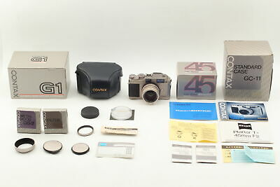 $ CDN1028.45 • Buy [ALL UNUSED Boxed]  Contax G1  Green Label  W/ Planar 45mm F/2 Lens From JAPAN
