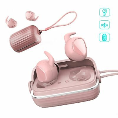$ CDN55.79 • Buy Mini Bluetooth Wireless Headset Twins Earphones Stereo Earbuds With Charging Box