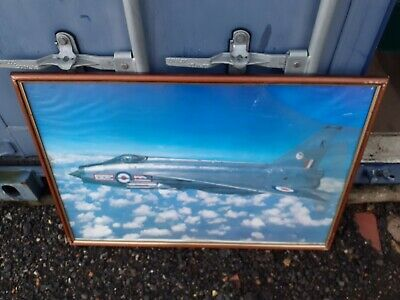 £29.99 • Buy ENGLISH ELECTRIC LIGHTNING Mk3A, No29 SQDN LARGE PHOTO FRAMED (COLLECTION ONLY)